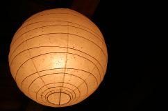 イサム・ノグチちっくな照明