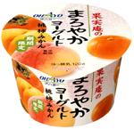果実庵のまろやかヨーグルト 桃・柿・みかん(オハヨー)