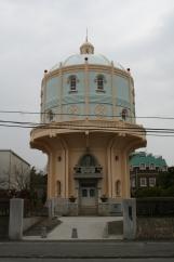 水戸市底区配水塔