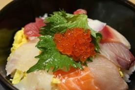 海鮮丼@とれとれ市場
