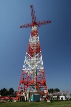 落下傘訓練塔
