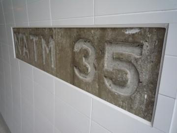 甲子トンネルのNATM35