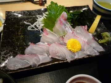 天然桜鯛定食