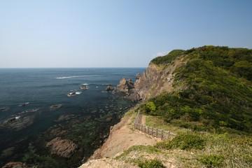 蒲生田岬からの風景
